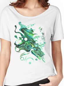 Approaching Eleven Percent From Behind  - Watercolor Painting Women's Relaxed Fit T-Shirt