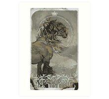 Noble Trevelyan Tarot Card Art Print