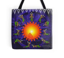 Suryanamaskar - Little Odissi Dancer Tote Bag