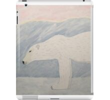 Polar Bear on Ice iPad Case/Skin