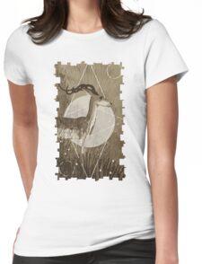 Halla Tarot Card Womens Fitted T-Shirt