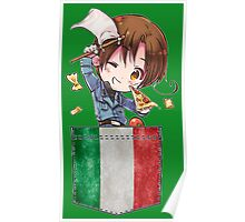 Italy Pocket Chibi Poster