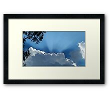 Rays of Sunshine Framed Print