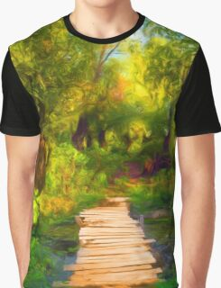 Into Wood Graphic T-Shirt
