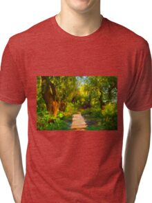 Into Wood Tri-blend T-Shirt