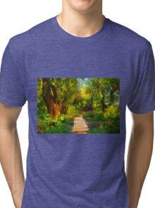 Into Wood Tri-blend T-Shirt