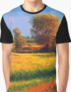 Out Field Graphic T-Shirt
