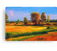 Out Field Canvas Print