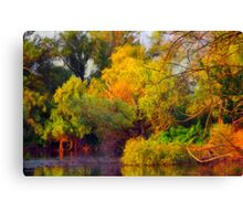 Water Forest Canvas Print