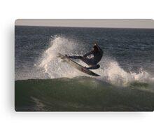 Surf, Spray & Sky Canvas Print