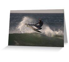 Surf, Spray & Sky Greeting Card