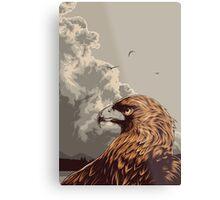 Eagle Eye In The Big Smoke Metal Print