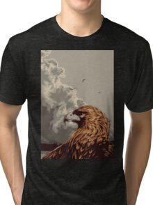 Eagle Eye In The Big Smoke Tri-blend T-Shirt