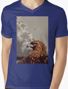 Eagle Eye In The Big Smoke Mens V-Neck T-Shirt