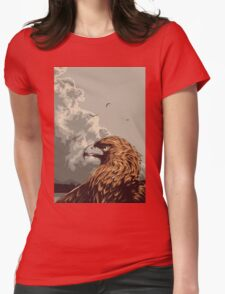 Eagle Eye In The Big Smoke Womens Fitted T-Shirt