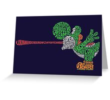Yoshography Greeting Card