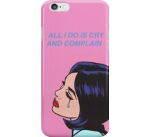 Halsey is there somewhere pop art phone Case iPhone Case/Skin