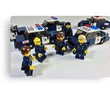 San Jose Police in LEGO Canvas Print