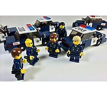 San Jose Police in LEGO Photographic Print