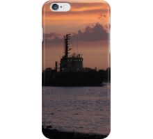 Tugging Along At Sunset iPhone Case/Skin