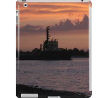 Tugging Along At Sunset iPad Case/Skin