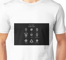 Thieves Guild Symbols/Know Your Symbols Unisex T-Shirt