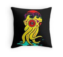 Sugar skull Octopus Throw Pillow