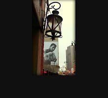 Downtown Detroit Light Fixture With Muhammad Ali Billboard  Unisex T-Shirt