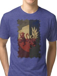 Hero of Fereldan Tarot Card Tri-blend T-Shirt