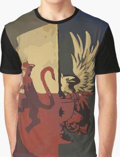 Hero of Fereldan Tarot Card Graphic T-Shirt