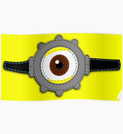 Minion Goggles Patch Poster