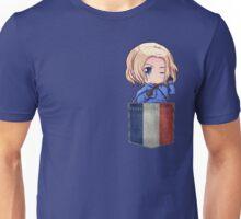 France Pocket Chibi Unisex T-Shirt