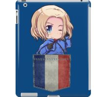 France Pocket Chibi iPad Case/Skin