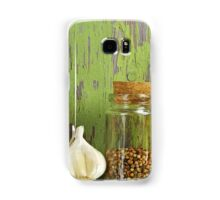 A still life of jars with peppers. Samsung Galaxy Case/Skin