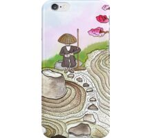 A Japanese Zen Garden iPhone Case/Skin