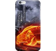 Fire Car iPhone Case/Skin