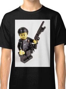 LAPD Patrol Officer - Custom LEGO Minifigure Classic T-Shirt