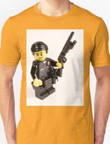 LAPD Patrol Officer - Custom LEGO Minifigure Unisex T-Shirt
