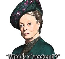 The Dowager Countess by FolloQuinn