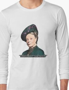 The Dowager Countess Long Sleeve T-Shirt