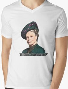 The Dowager Countess Mens V-Neck T-Shirt
