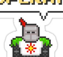 Solaire of Pixelstora Sticker