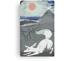 Fennec Tarot Card Canvas Print