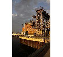 Restoring the Port Photographic Print
