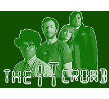 The IT Crowd - GREEN CRT Glow Photographic Print