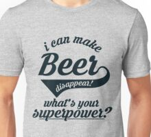 I can make BEER disappear! - version 2 - dark blue / navy Unisex T-Shirt