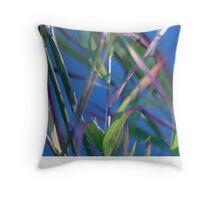 Blue Lagoon - Abstract Throw Pillow