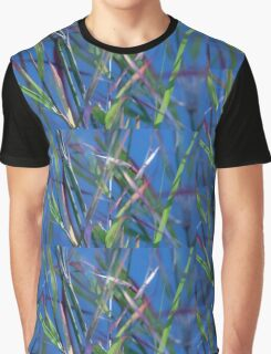 Blue Lagoon - Abstract Graphic T-Shirt