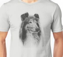 Rough Collie Dog  Unisex T-Shirt
