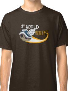 1st World Problems Orange Classic T-Shirt